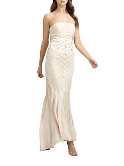Sue Wong - Strapless Gown