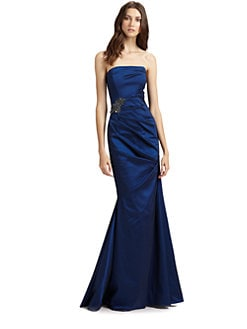 David Meister - Strapless Gown