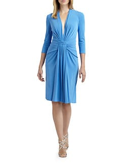ISSA - Silk Jersey Dress