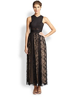 ABS - Lace Combo Gown