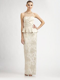 David Meister - Jacquard Gown
