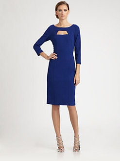 David Meister - Crepe Day Dress