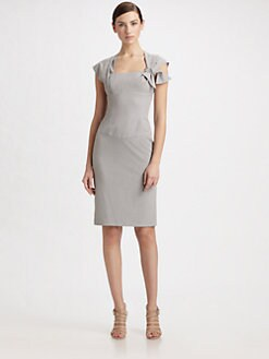 Black Halo - De Vries Bow Dress/Alloy