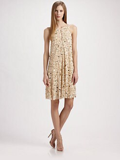 Aidan Mattox - Beaded Cocktail Dress