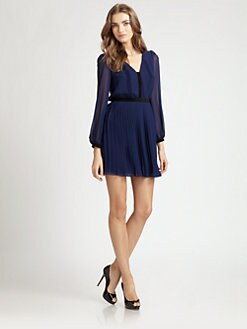ABS - Pleated Dress