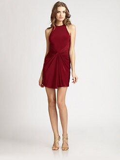 ABS - Front Drape Dress