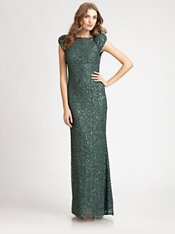 ABS - Sequined Gown