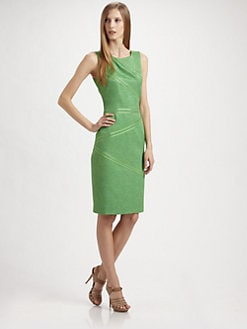 David Meister - Woven Jacquard Dress