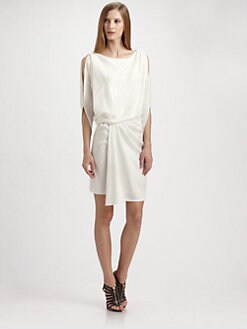 David Meister - Draped Sequin Dress