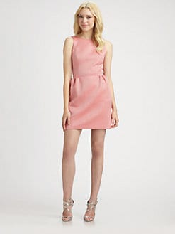 ERIN by Erin Fetherston - Jacquard Bow Dress
