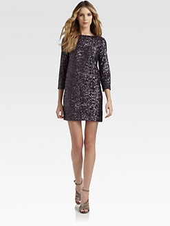 Nicole Miller - Sequined Dress
