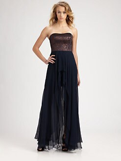 Nicole Miller - Strapless Gown
