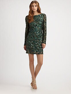 Aidan Mattox - Sequined Dress