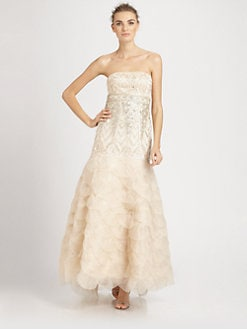 Sue Wong - Strapless Ball Gown
