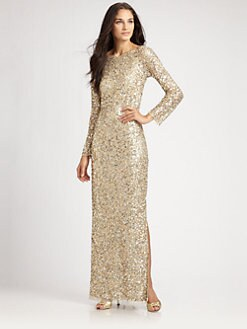 Aidan Mattox - Sequined Gown