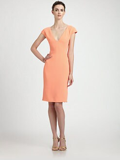 Rachel Roy - Cap-Sleeve Dress