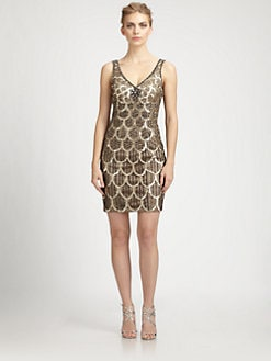 Sue Wong - Deco Beaded Dress