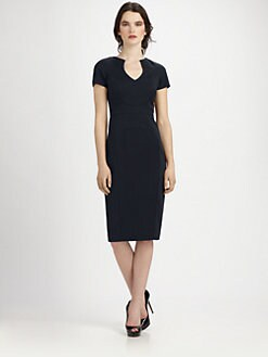 Black Halo - Paneled Dress