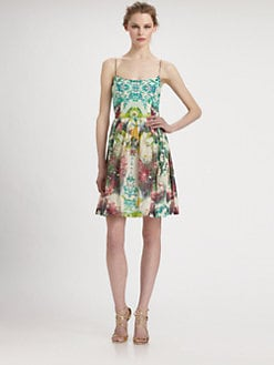 Nicole Miller - Floral Print Dress