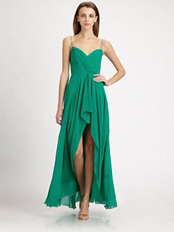 Nicole Miller - Hi-Lo Georgette Gown