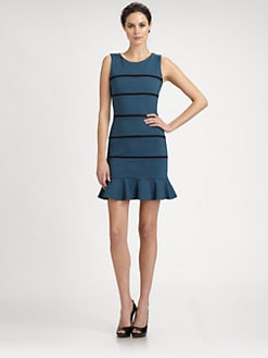 ERIN by Erin Fetherston - Ponte Stripe Dress