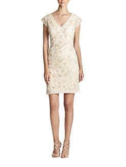 Sue Wong - Soutache Embroidery Dress