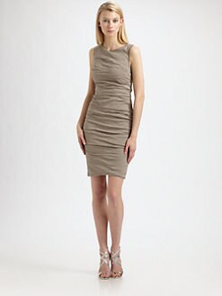 Nicole Miller - Pleat Dress