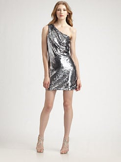 ABS - Sequined Mini Dress