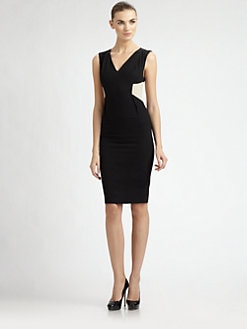 Rachel Roy - Mesh Inset Dress
