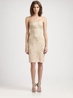 Sue Wong - Beaded Embroidery Dress