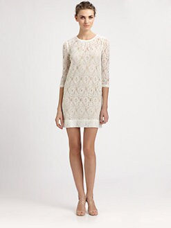 ERIN by Erin Fetherston - Floral Lace Dress