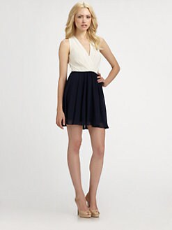 ERIN by Erin Fetherston - Colorblock Dress