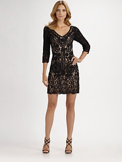 Sue Wong - Soutache Lace Dress