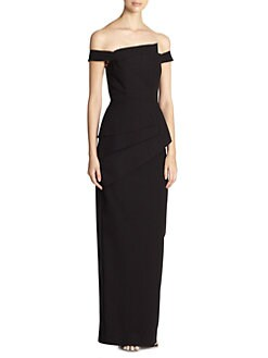 Black Halo - La Rose Gown