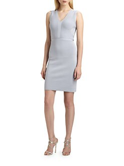 ISSA - Stretch Knit Dress