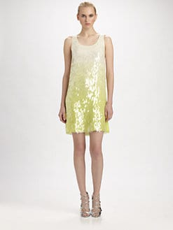 ERIN by Erin Fetherston - Silk Ombre Shimmer Dress