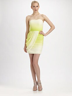 ERIN by Erin Fetherston - Strapless Silk Mini Dress