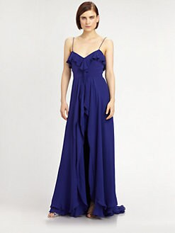 Nicole Miller - Georgette Gown
