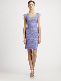 Sue Wong - Embroidered Peri Dress