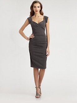 Nicole Miller - Stretch Twill Dress
