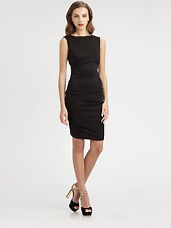 Nicole Miller - Tucked Sheath Dress