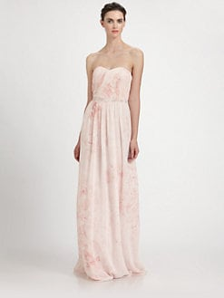 ERIN by Erin Fetherston - Strapless Chiffon Gown