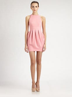 ABS - Inverted Pleat Dress