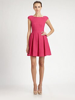 ABS - Box Pleat Dress