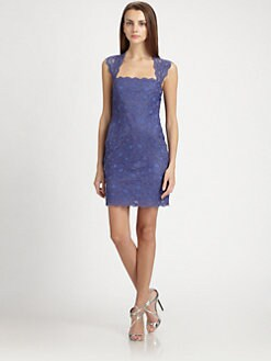 Nicole Miller - Pieced Lace Eva Dress