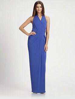 Nicole Miller - Cowl-Back Gown