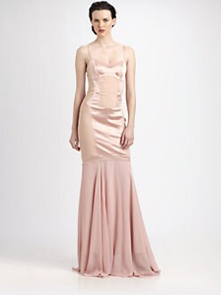 Nicole Miller - Paneled Gown