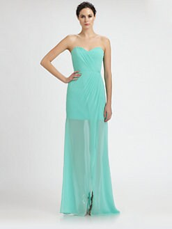 ERIN by Erin Fetherston - Chiffon Gisele Gown