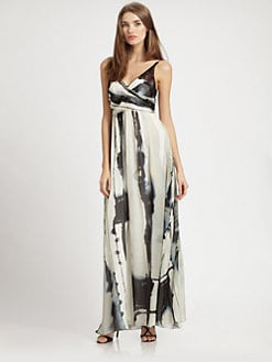 Nicole Miller - Silk Maxi Dress