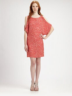 Aidan Mattox - Beaded Silk Dress